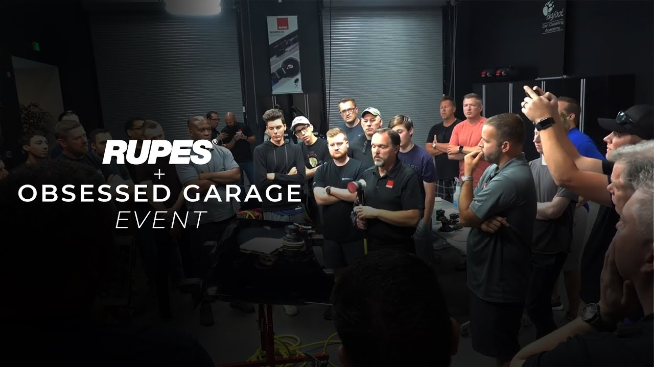 rupes usa 2 day training event ii obsessed garage