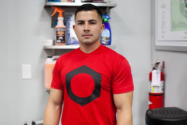 Bolt Shirt in Red