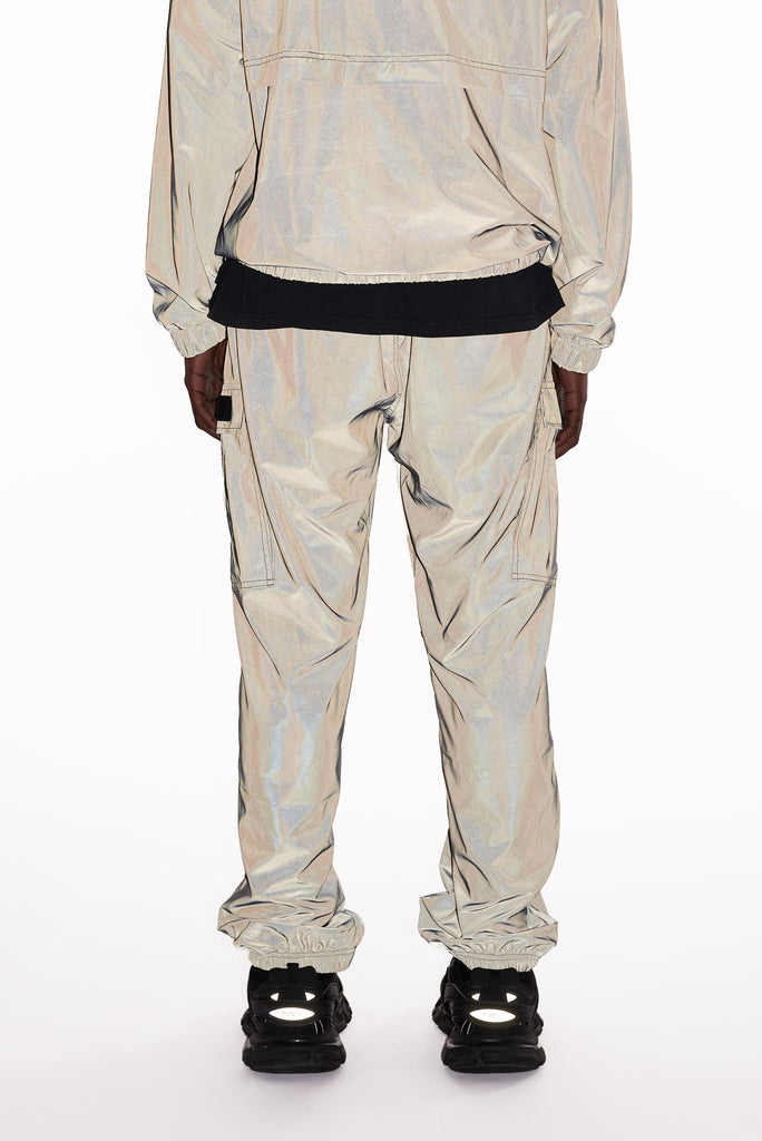 M+RC NOIR Reflective EOM orange cargo pant-mrcnoir