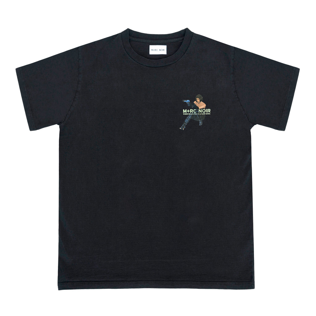 M+RC NOIR ENEMY BLACK TEE