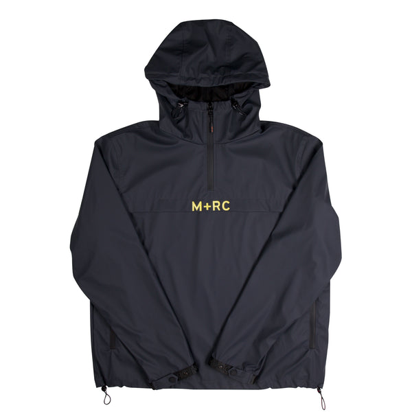 "M+RC NOIR ""Storm"" Charcoal Pull-Over Jacket"