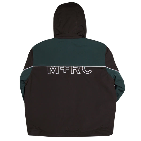 "M+RC NOIR BLACK ""LOST CAUSE"" BLACK AND GREEN JACKET"