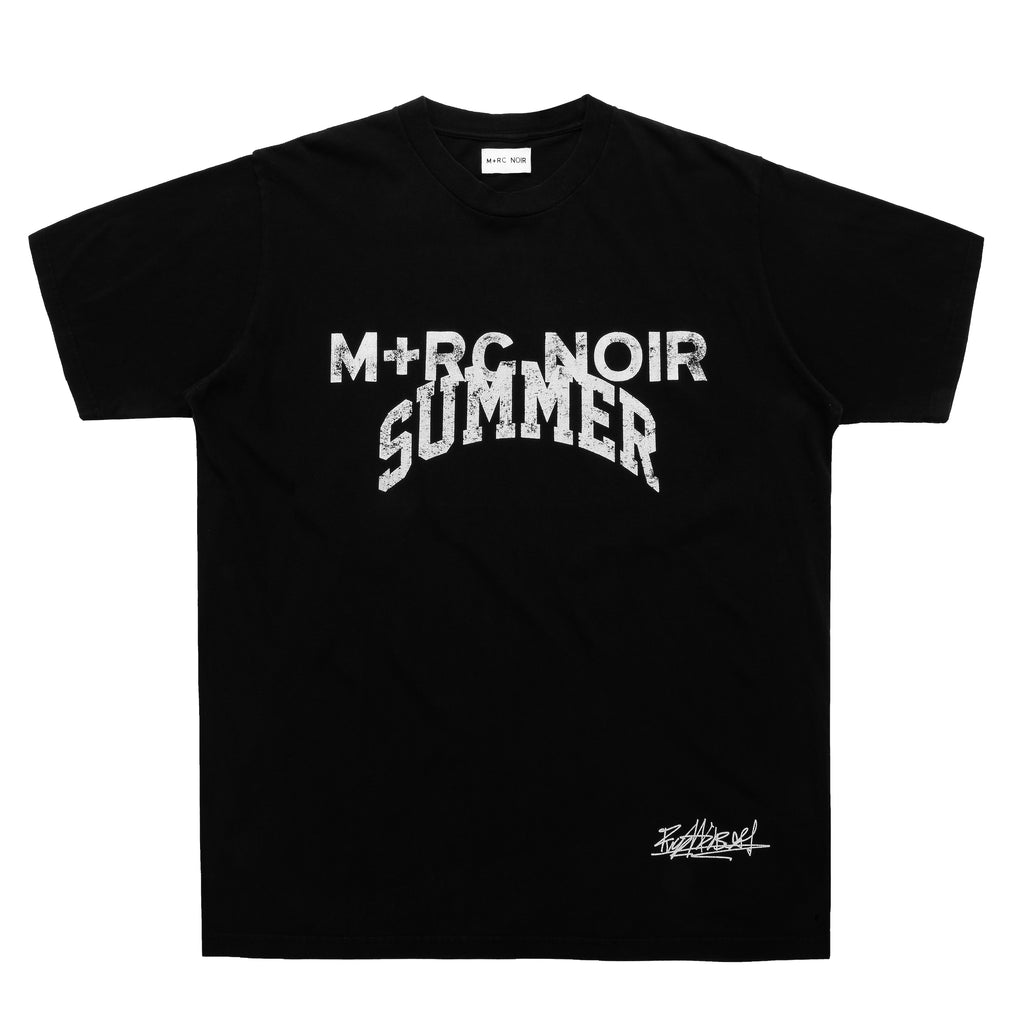 M+RC NOIR BLACK SUMMER GAME TEE-mrcnoir