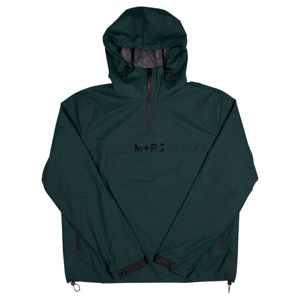 "M+RC NOIR ""Storm"" Green Pull-Over Jacket"