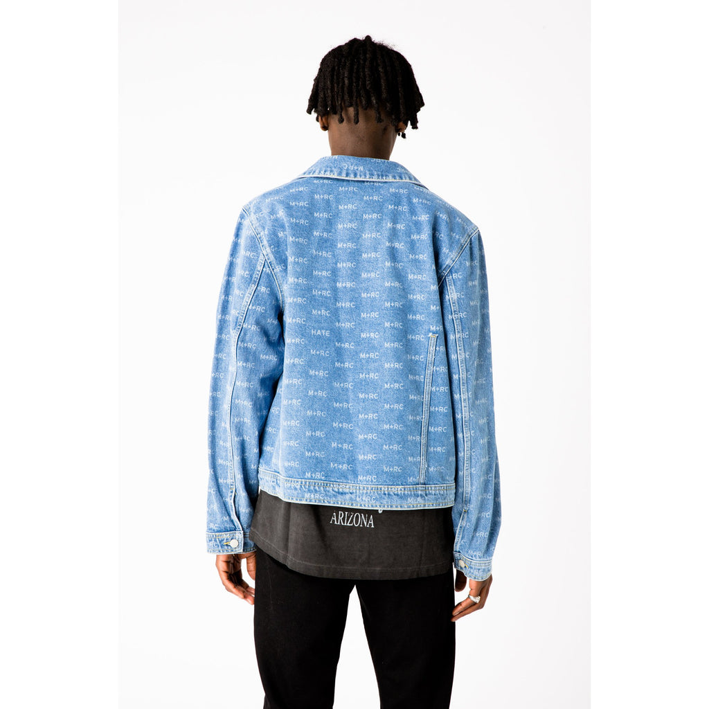 M+RC NOIR HATE BLUE DENIM JACKET