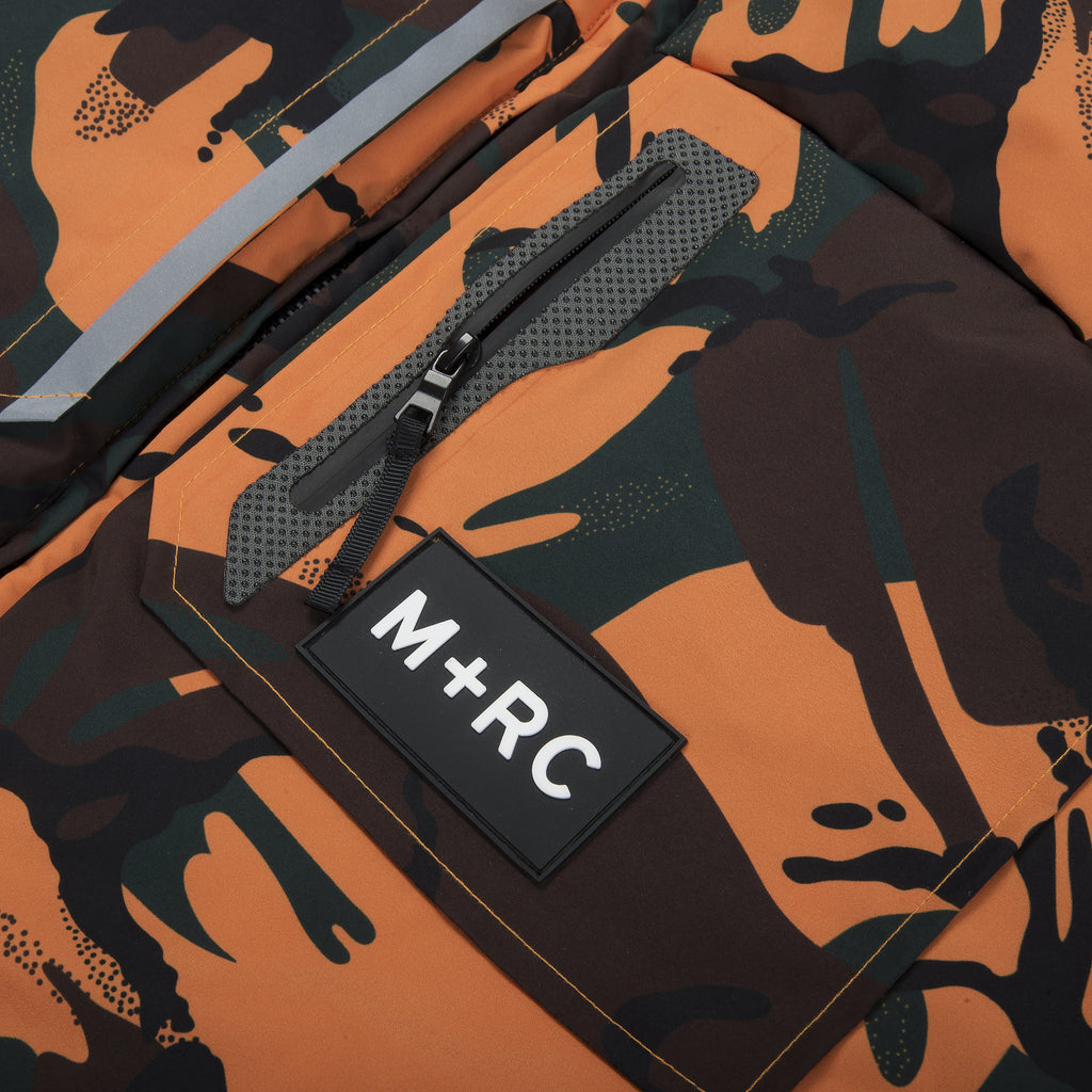 M+RC NOIR EAST ORANGE CAMO WINTER JACKET-mrcnoir