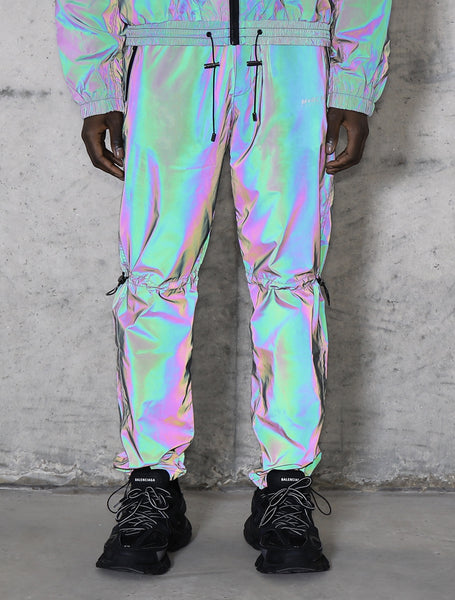 M+RC Ghost Dark Reflective Rainbow Track Pant