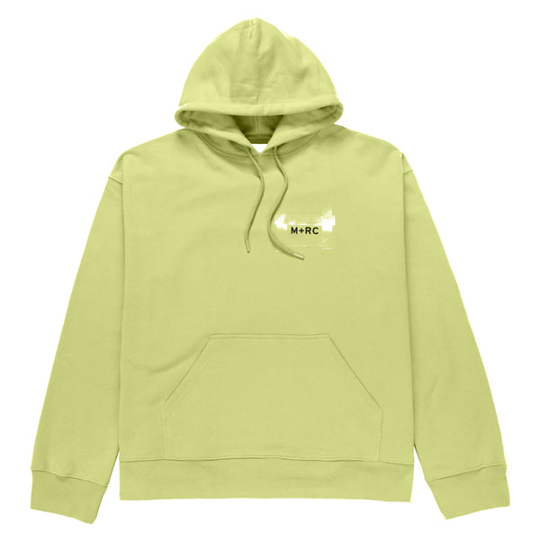 M+RC NOIR LEMON GREEN SPLIT HOODIE