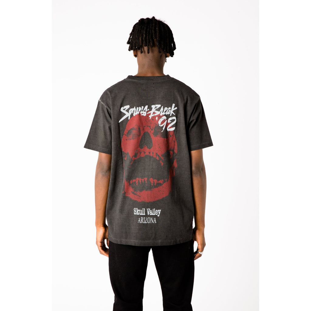 M+RC NOIR BLACK STONEWASHED SPRING BREAK TEE