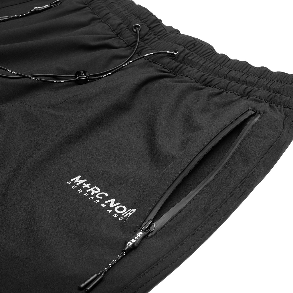M+RC NOIR Black performance elastic pant