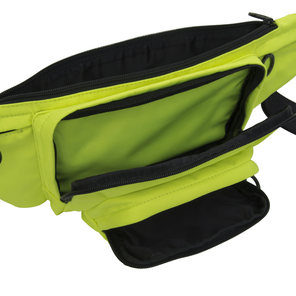 M+RC NOIR NEON YELLOW BELT BAG