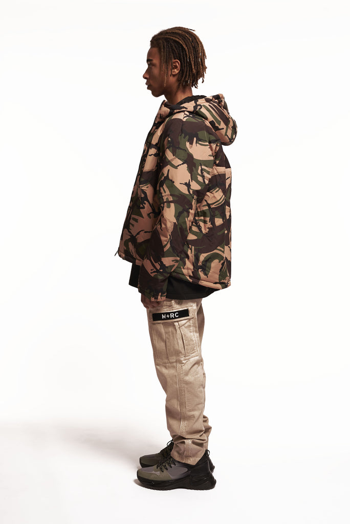 M+RC NOIR EAST KHAKI CAMO WINTER JACKET