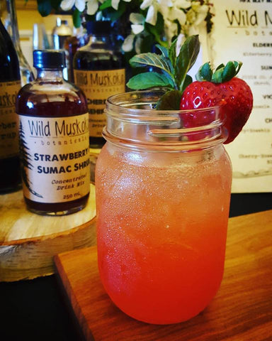 Strawberry and Sumac Cocktail