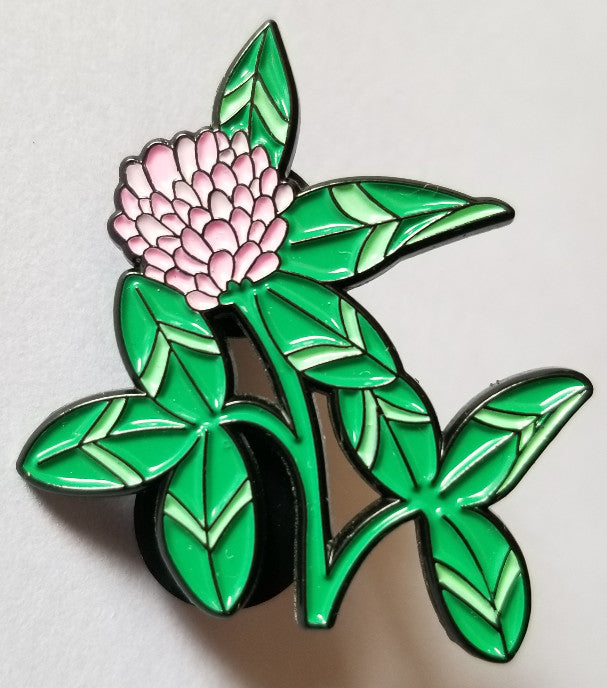 Red Clover Pin