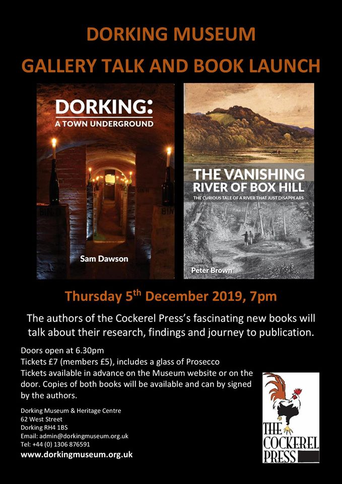 Underground Dorking and the Vanishing River of Box Hill Book Launch