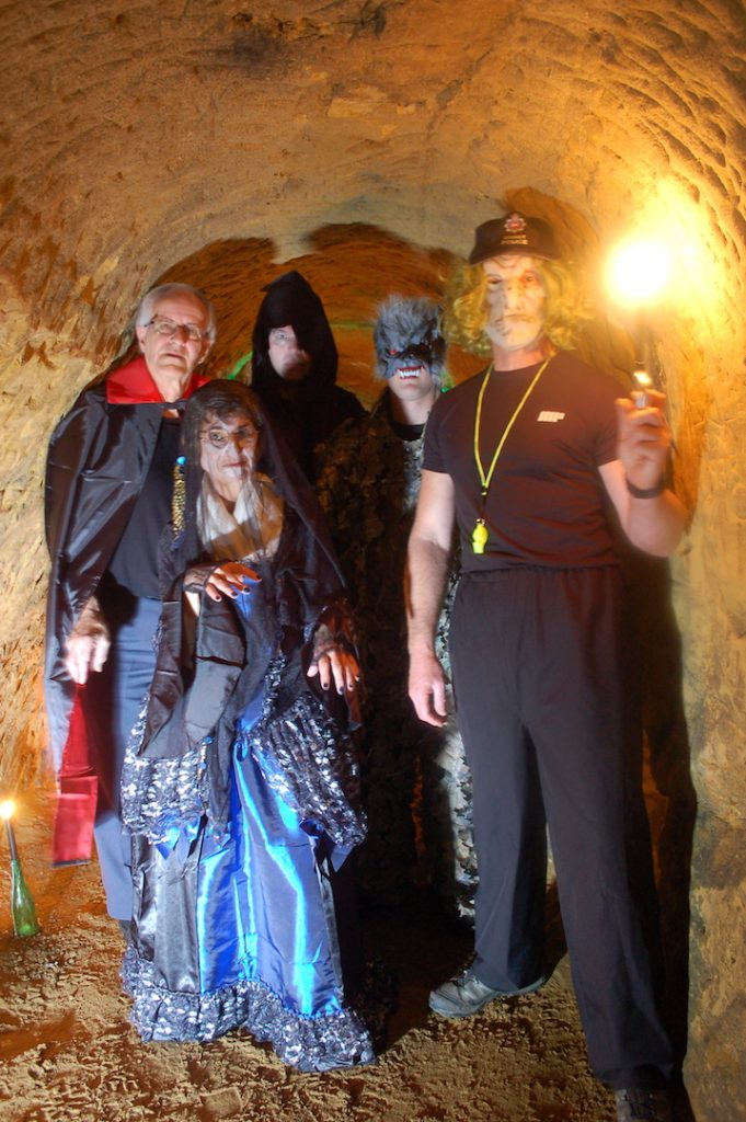 Spooky Hallowe'en Dorking Caves Ticket - Thursday 31st October - 5pm