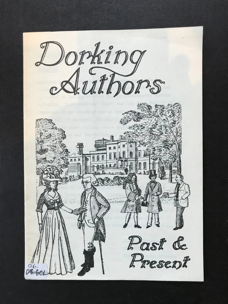 Vintage Dorking Authors. Past and Present by Eileen Chapman