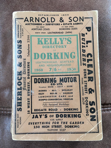 Kelly's Directory of Dorking 1950