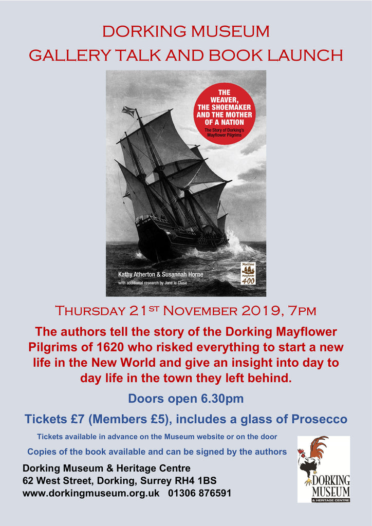 Dorking Mayflower Pilgrims Gallery Talk and Book Launch