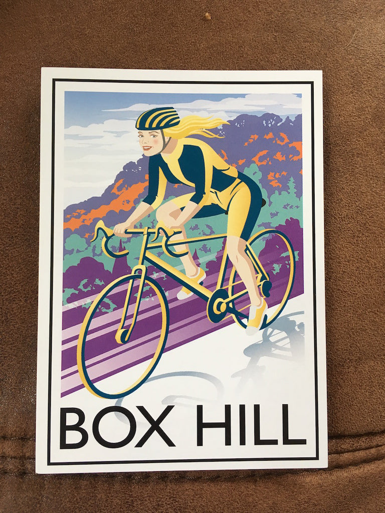 Small Town Postcards - Postcard of Box Hill 2