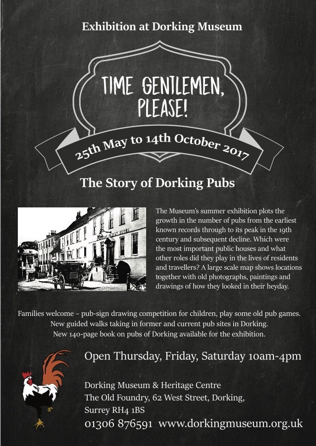 Time Gentlemen Please - Gallery Talk - 28th September - 7pm