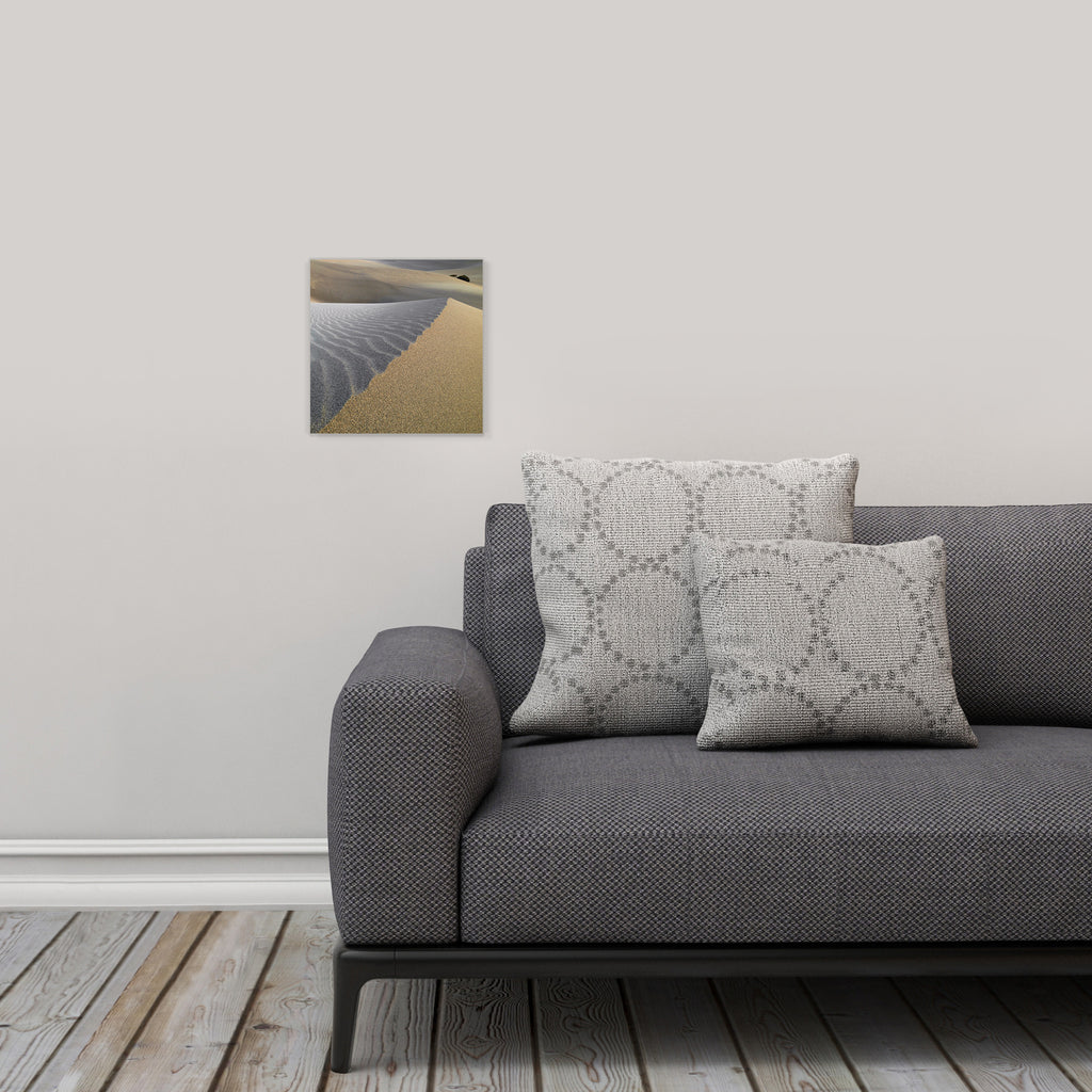 "LIK Squared by Peter Lik desert wall art, affordable wall decor, small 9.75"" square Acrylic Print in living room"