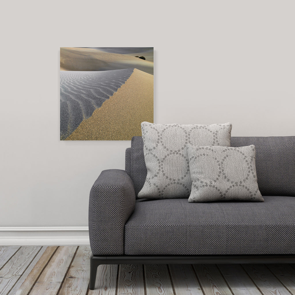 "LIK Squared by Peter Lik desert wall art, affordable wall decor, medium 19.375"" square Acrylic Print in living room"