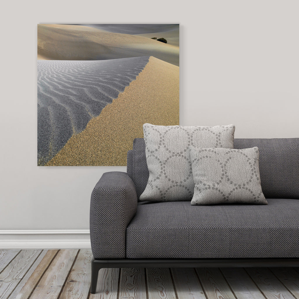 "LIK Squared by Peter Lik desert wall art, affordable wall decor, large 29.5"" square Acrylic Print in living room"