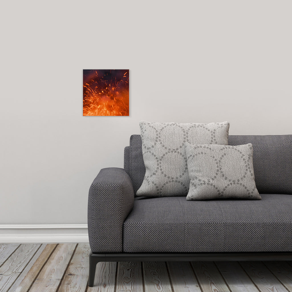 "LIK Squared by Peter Lik abstract wall art, affordable wall decor, small 9.75"" square Acrylic Print in living room"