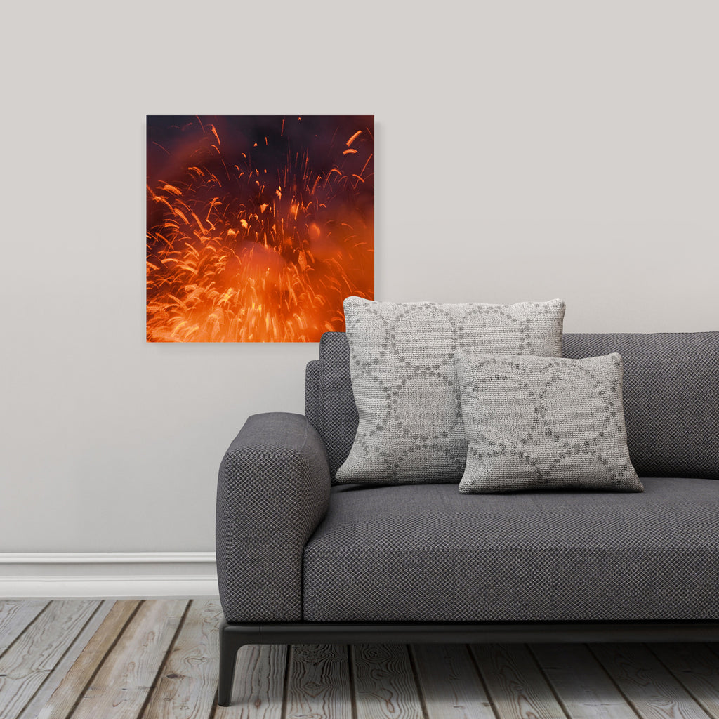 "LIK Squared by Peter Lik abstract wall art, affordable wall decor, medium 19.375"" square Acrylic Print in living room"