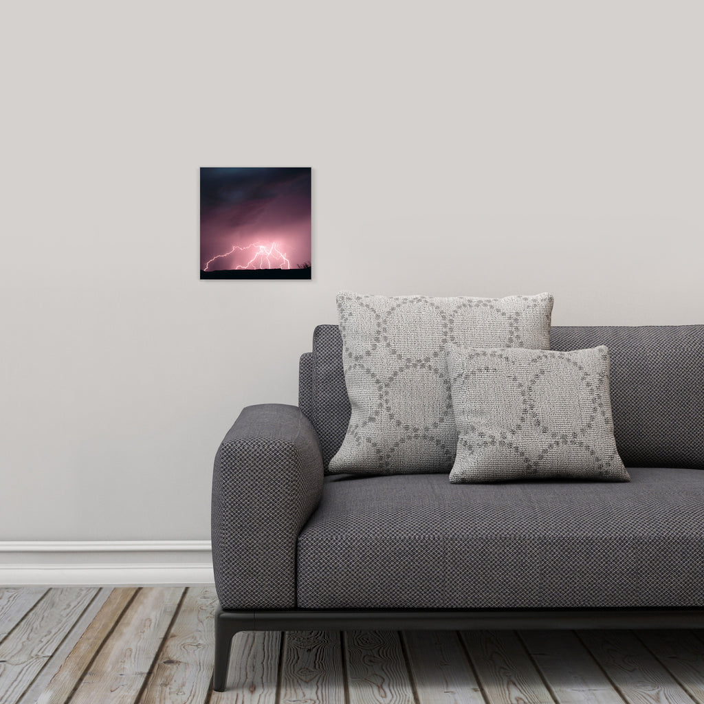 "LIK Squared by Peter Lik nature wall art, affordable wall decor, small 9.75"" square Acrylic Print in living room"