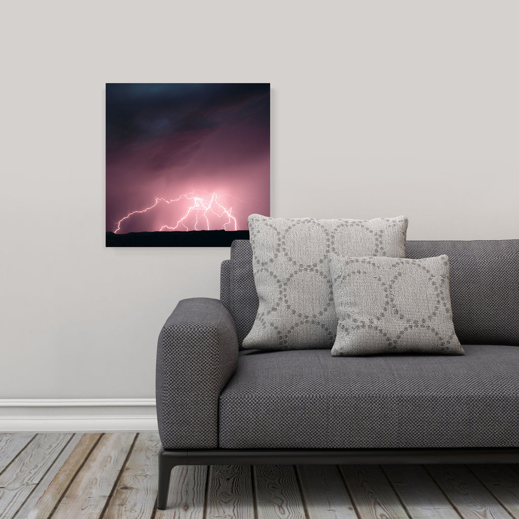 "LIK Squared by Peter Lik nature wall art, affordable wall decor, medium 19.375"" square Acrylic Print in living room"