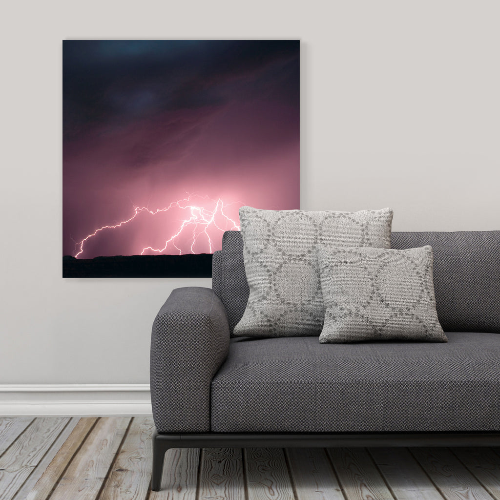 "LIK Squared by Peter Lik nature wall art, affordable wall decor, large 29.5"" square Acrylic Print in living room"