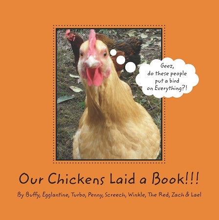 Our Chickens Laid a Book!!!