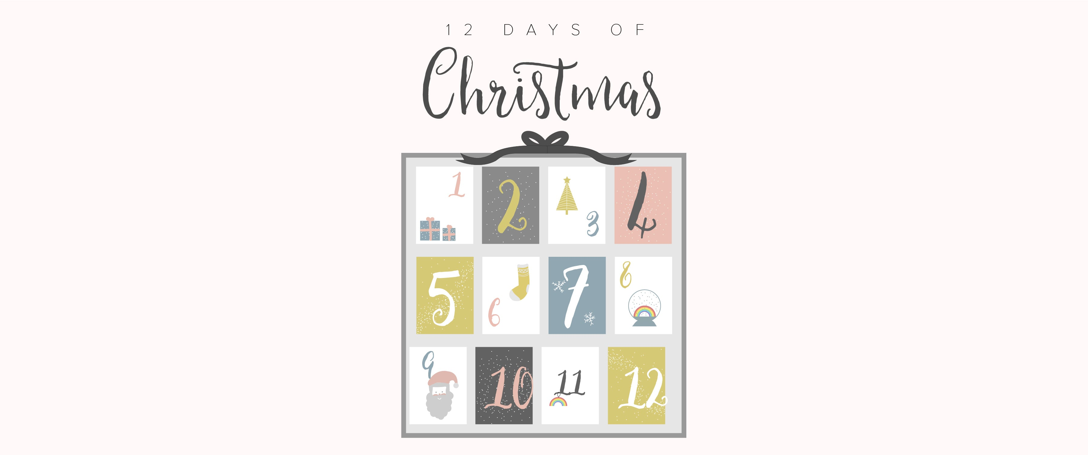 Pleiades 12 Days of Christmas calendar