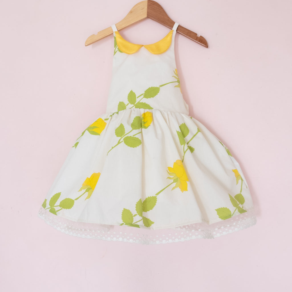 Yellow Rose Vintage Shortie