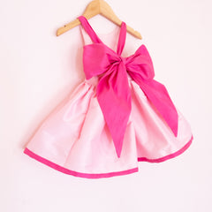 The Pink Bow Silk Shortie