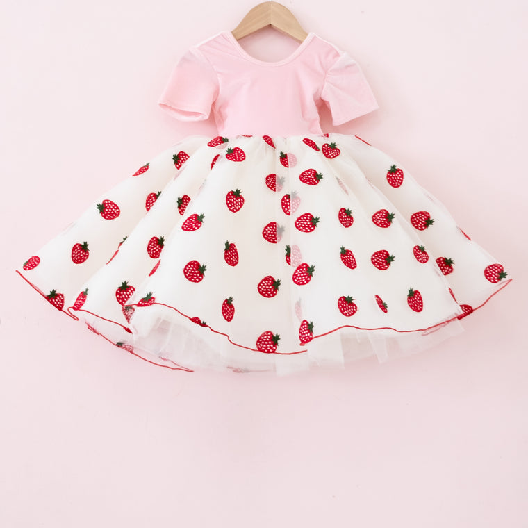 Strawberry Shortcake Tulle Dress
