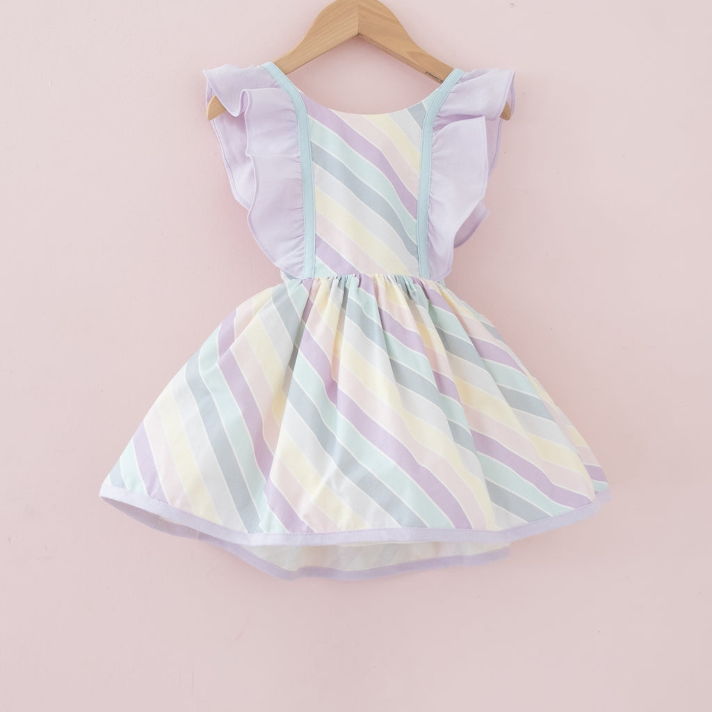 Pastel Rainbow Stripe Belle