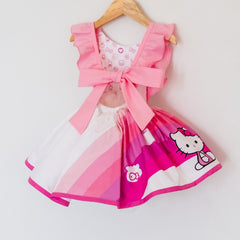Back of the pink hello kitty belle