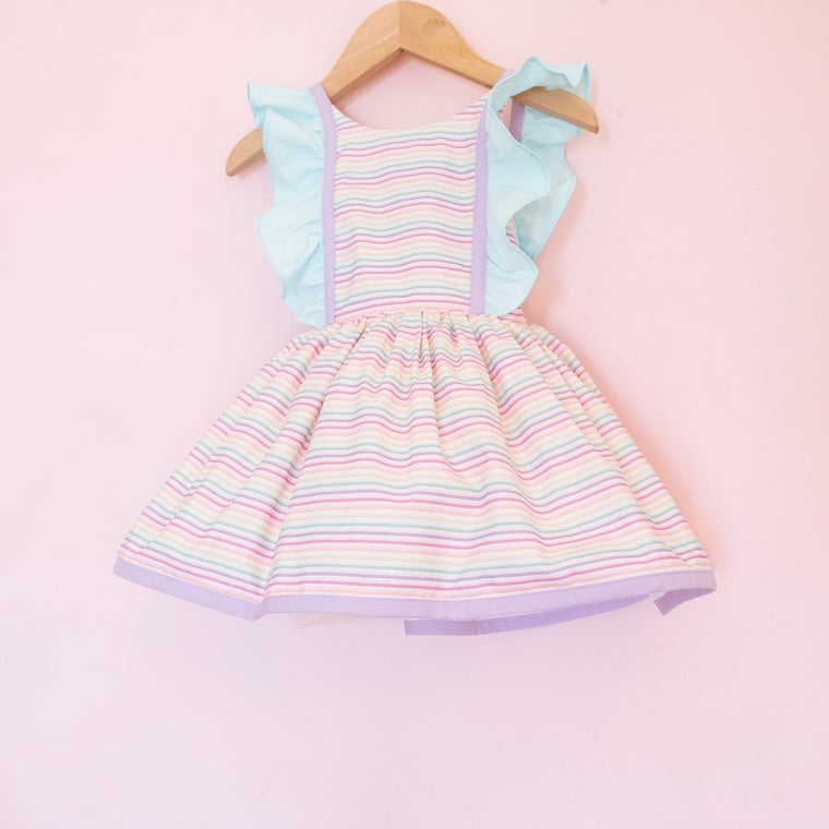 Mini Rainbow Stripe Belle