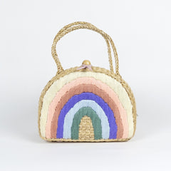 Sea and Grass X Pleiades Childrens Rainbow Backpack - Pastel