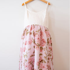 Rose Chiffon Dress - Womens