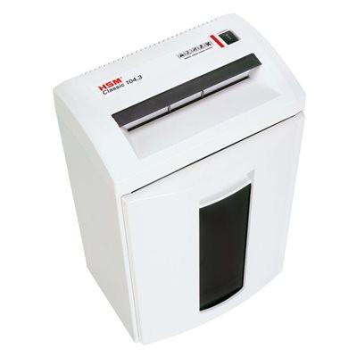 HSM Classic 104.3 Cross Cut Shredder