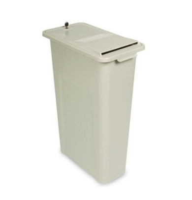 "HSM SHREDINATOR 24"" SHREDDER BIN"