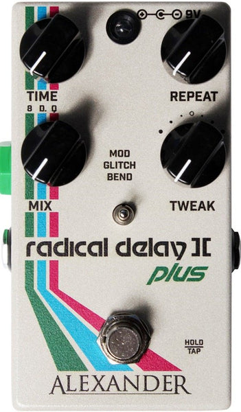 Alexander Pedals Radical Delay II Plus