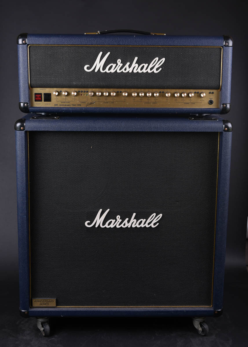 Marshall 6100 30th Anniversary Head & Cab
