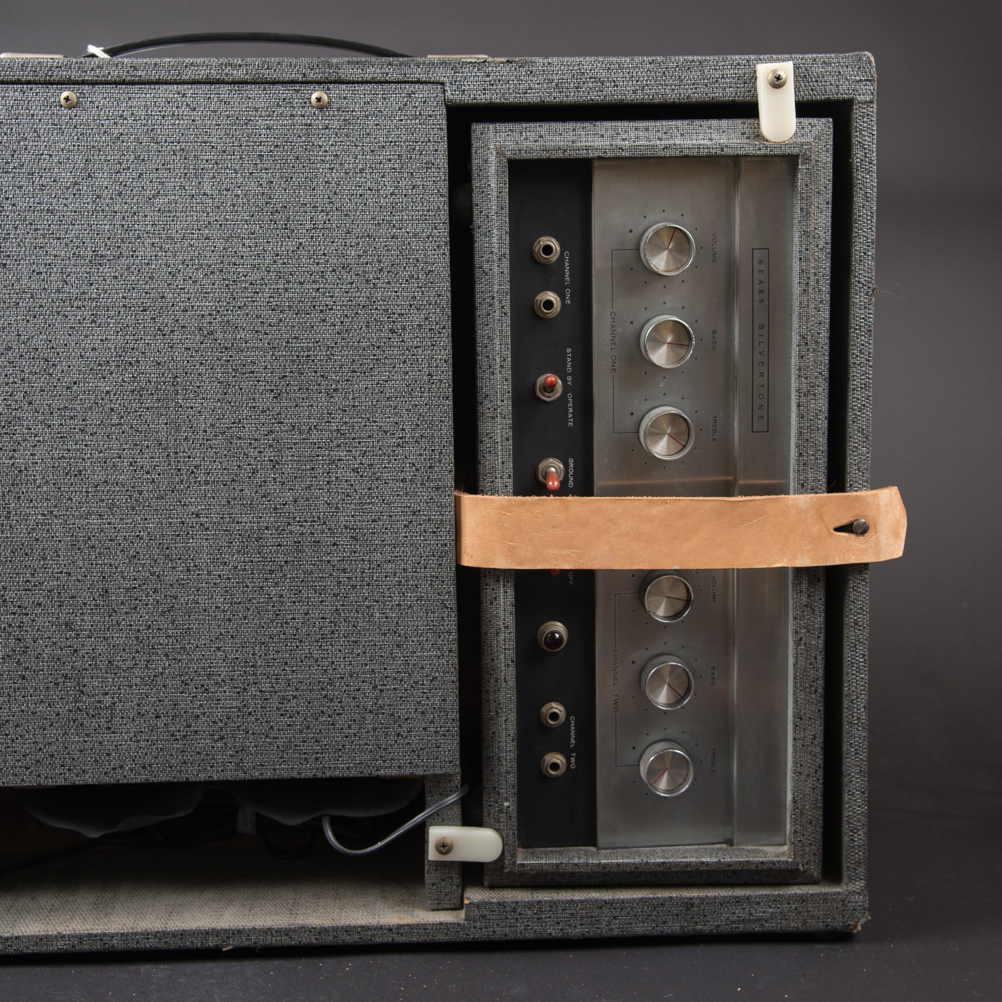 Silvertone 1483 Head and Cab 1960s