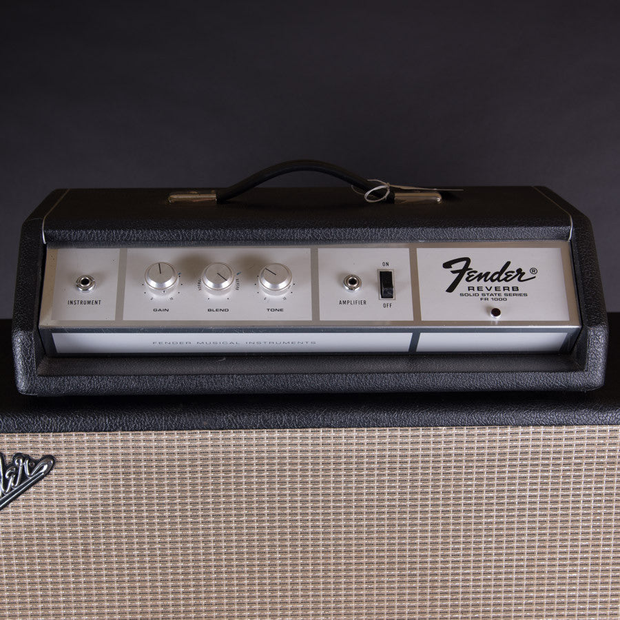 Fender FR 1000 Solid State Reverb Late 1960's