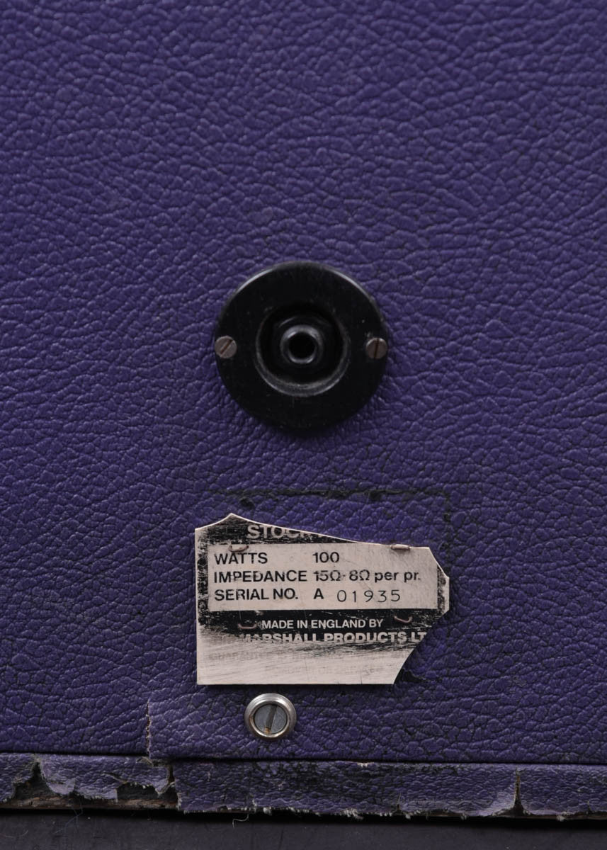 Marshall JMP Super Lead Half Stack | Purple Tolex 1973